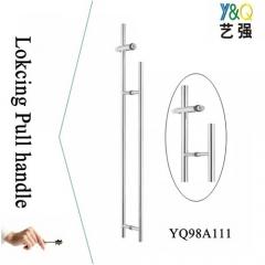 outdoor pull handle and door lock