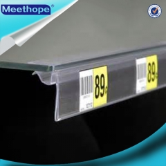 Clear Plastic Glass Edge Strip