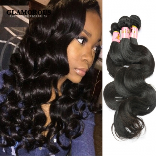 Brazilian/Peruvian/Malaysian/Indian Body Wave,100% Virgin Human Hair
