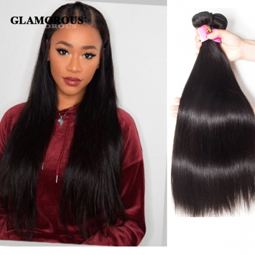 Unprocessed Silky Straight Virgin Human Hair Weaving