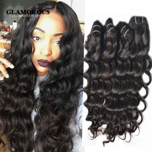 High Feedback 8-36 inches Unprocessed Virgin Sea Wave Human Hair