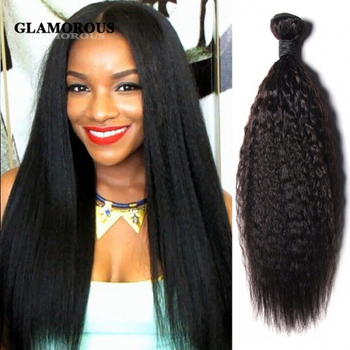 Hot Selling Kinky Straight virgin hair bundles