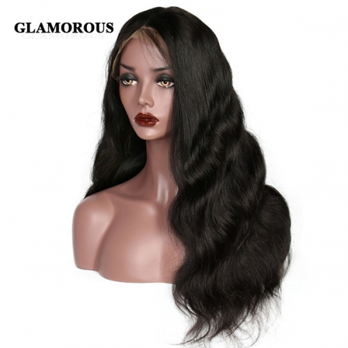 Body Wave Lace Front Wig 100% Virgin Human Hair Lace Wigs