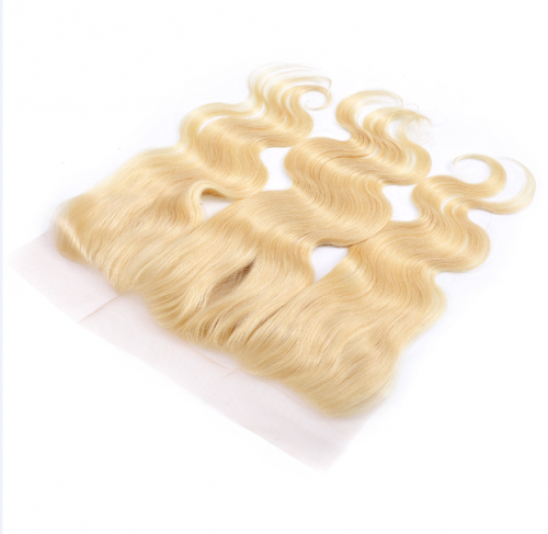 Blonde 613 Body Wave 13x4 lace closure,100% Virgin Human Hair
