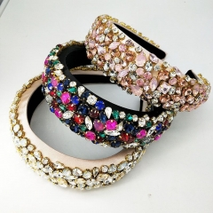 3pcs/lot Luxury rhinestone bling headband acessories