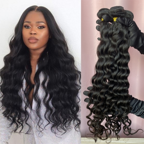 100% Human Hair Deep Body Wave Bundles In Filipino Russian Malaysian etc