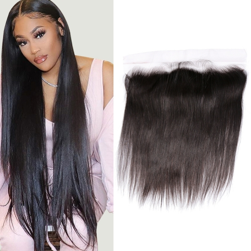 100% Unprocessed Virgin Human Hair 13x4 Transparent Lace Frontal