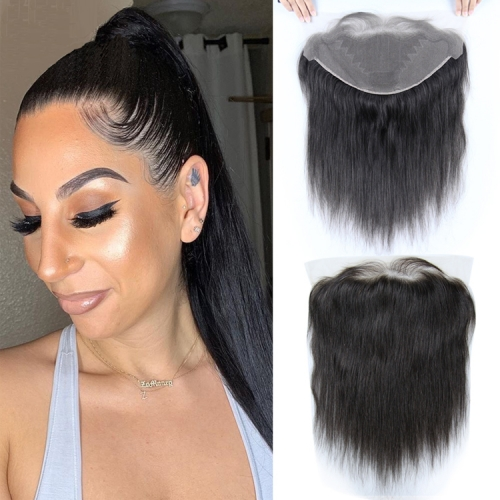 Straight  Lace Frontal 13x4  with 8-20 inch human hair wigs