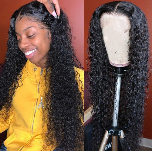 10-30 Inch Jerry Curly Lace Front Wig Human Hair Wigs
