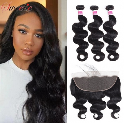 Best Selling Body Wave Bundles With 13x6 Frontal