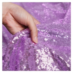 120cm*1Yard丨Light Purple/LavenderSequin Fabric