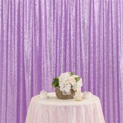 8ftx8ft Light Purple Sequin Backdrop
