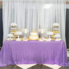 "Sequin Tablecloth 60""X102""Lavender"