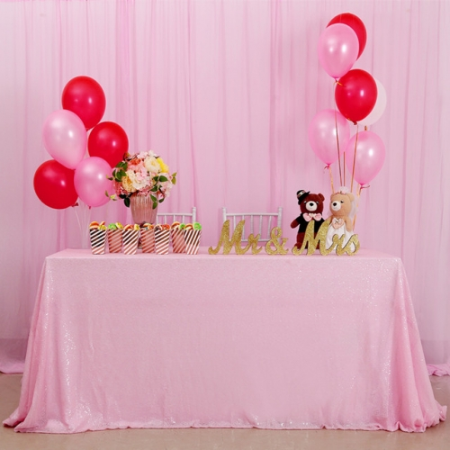 "Sequin Tablecloth 60""X102""Pink"