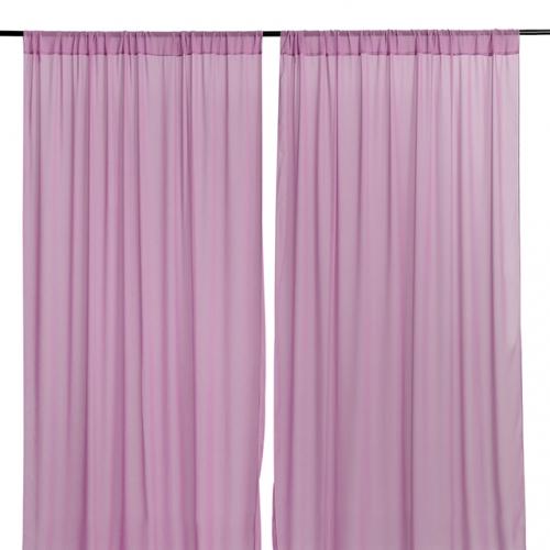 9.8ftx8ft Violet Chiffon Backdrop