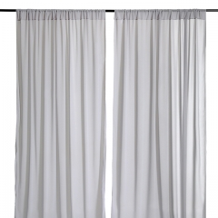 9.8ftx8ft Light Gray Chiffon Backdrop