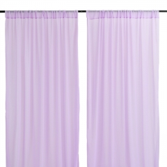 9.8ftx8ft Light Purple Chiffon Backdrop