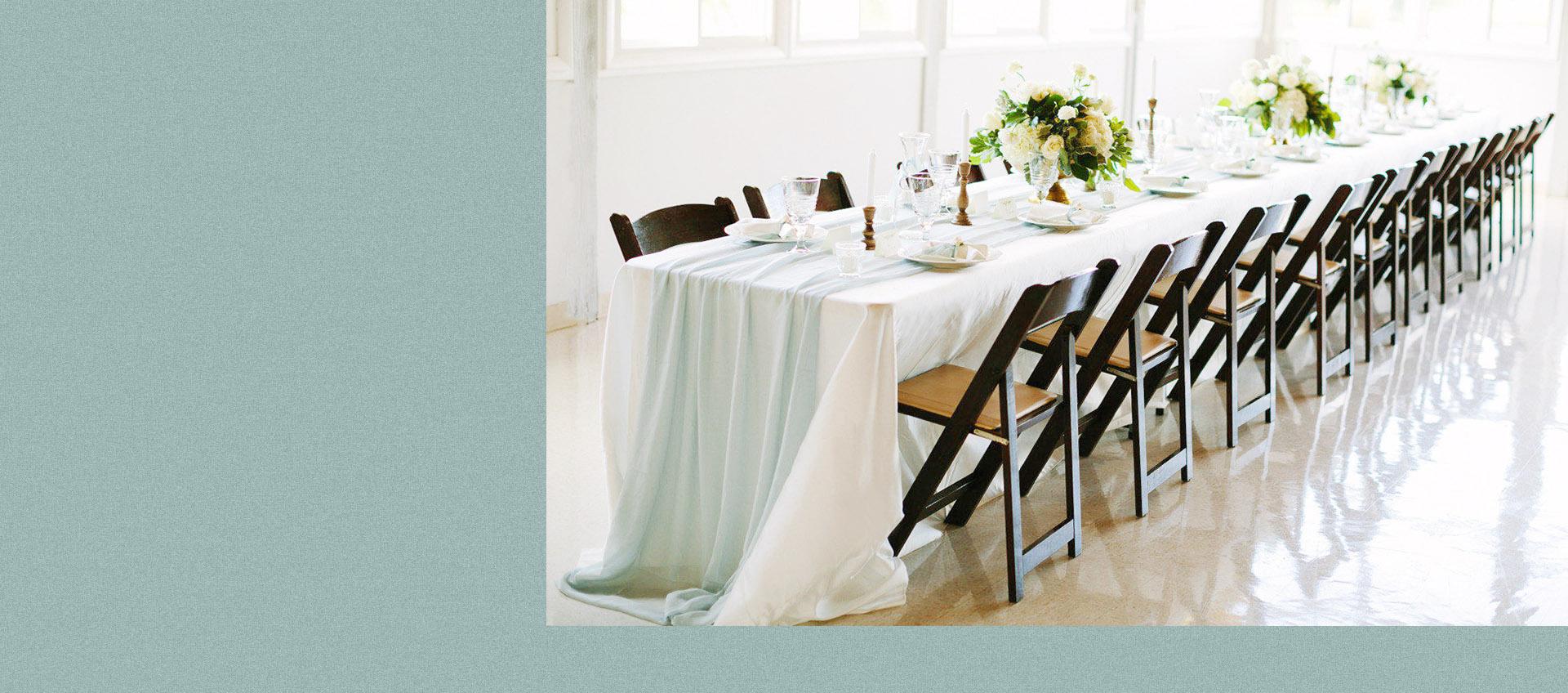 ▁   ORGANIC AND ROMATTIC  TABLE DESIGN  * ???