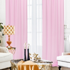 9.8ftx10ft Pink Chiffon Backdrop