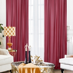 9.8ftx10ft Burgundy Chiffon Backdrop