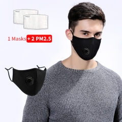 Masks Face Mask Anti-Dust Mouth Mask With Filters Reusable Pollution Mask PM2.5