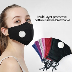 Reusable Face Mask Protective Breathable Anti Pollution PM 2.5 Washable