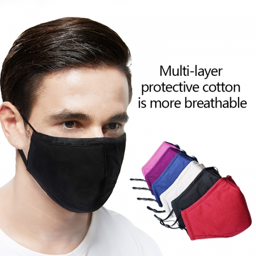 Cotton Face Mask Washable Reusable Soft Breathable Protect Face Mask for Unisex