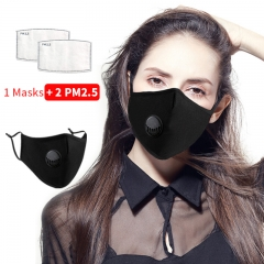 Cotton Mask PM2.5 Filter Mask Filter Masks for Protection Filter Mask Valve Washable