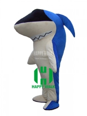 The Whale Fish Plush Movie Character Cartoon Mascot Costume for Adult