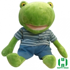 Custom 45cm Frog Stuffed Plush Toy