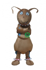 Ants Insects Character cosplay Custom Adult Walking Fur Human Animal Party Plush Movie Character Cartoon Mascot Costume for Adult Sh