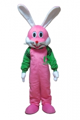Rabbit Bunny Character cosplay Custom Adult Walking Fur Human Animal Party Plush Movie Character Cartoon Mascot Costume for Adult