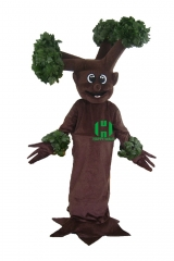 Tree Plants Character cosplay Custom Adult Walking Fur Human Animal Party Plush Movie Character Cartoon Mascot Costume for Adult Sh