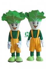 Vegetable Plants Character cosplay Custom Adult Walking Fur Human Animal Party Plush Movie Character Cartoon Mascot Costume for Adult Sh