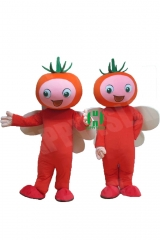 Tomato Plants Character cosplay Custom Adult Walking Fur Human Animal Party Plush Movie Character Cartoon Mascot Costume for Adult Sh