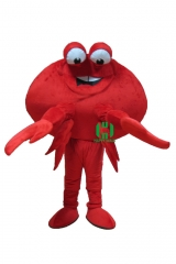 Crab Character cosplay Custom Adult Walking Fur Human Animal Party Plush Movie Character Cartoon Mascot Costume for Adult Sh