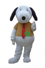 Dog Character cosplay Custom Adult Walking Fur Human Animal Party Plush Movie Character Cartoon Mascot Costume for Adult