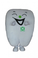 Tooth Custom Adult Walking Fur Human Animal Party Plush Movie Character Cartoon Mascot Costume for Adult Sh