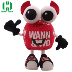 Custom Robot Voice Sound Music Record & Play Self-standing Stuffed Plush Toy