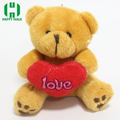 Custom Animal Teddy Bear Plush Keychain