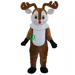 Christmas Deer Mascot Costume for Adult
