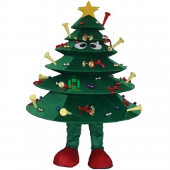 Christmas Tree Mascot Costume for Adult
