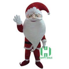 Christmas Santa Claus Mascot Costume for Adult