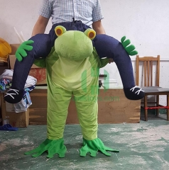 Carry Me Ride on Frog Costume