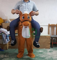 Carry Me Ride on Horse Costume