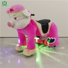 Pink Pig Horse Riding Animal Games