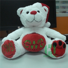 Custom White Bear 35cm White Teddy Bear