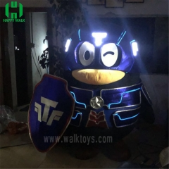 Custom LED mascot Costume
