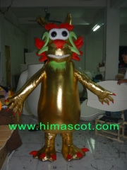 Chinese God Dragon Mascot Costume for Adult