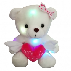 LED Teddy Bear with Heart